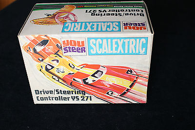 Scalextric Vintage You Steer Drive/steering Controller Ys 271 - New/old Stock