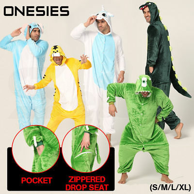 Adult Fleece Unisex bodysuit Kigurumi Animal Pajamas Cosplay Costume Sleepwear
