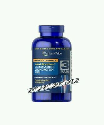 Glucosamine & Chondroitin & MSM Joint Soother 1500 MG High Strength x 480 Caps