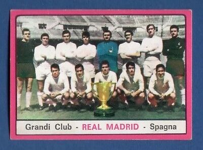 Figurina Calciatori Panini 1967/68 - Grandi Club - Squadra Real Madrid