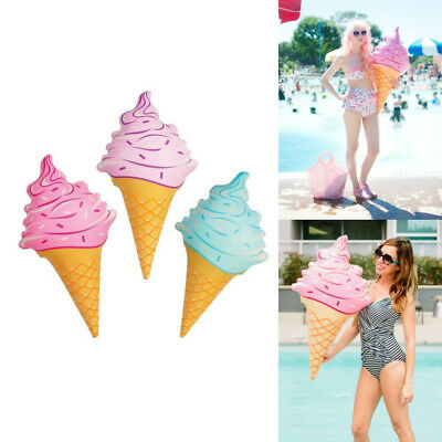 ~ 3 FOOT! Purple /& Blue Inflat ~ Combo SET OF 2 Ice Cream Cone Inflatable