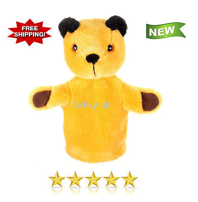 BEST Golden Bear The Sooty Show Sooty Hand Puppet Super Soft Toy for Kids NEW