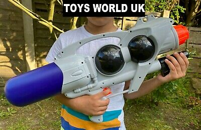 "Large 23"" Water Gun Pump Action Super Soaker Sprayer Garden Party Beach 2 colour"