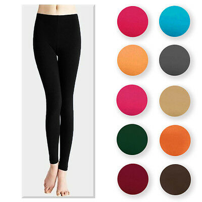 Womens Spring Summer Solid Color Leggings Stockings Stretch Thin Seamless