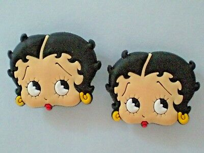 Betty Boop Jibbitz Clog Shoe Charm Fit Holey Crocs Sandal Bracelet Accessories
