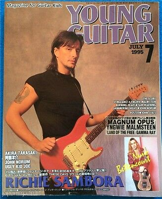 Young Guitar Japan Music Magazine 7/1995 Richie Sambora
