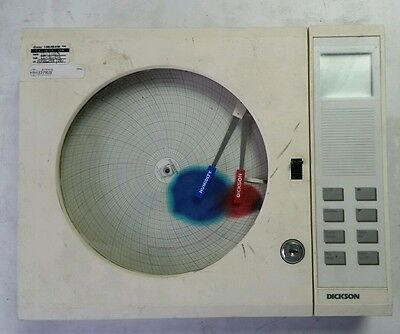 """This a working Dickson Chart Recorder, THDX C1601, 8"""""""