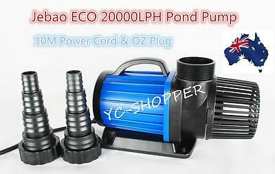 Jebao ECO 20,000L/H Soft Solid Submersible Water Feature Pond Pump - 200W Only