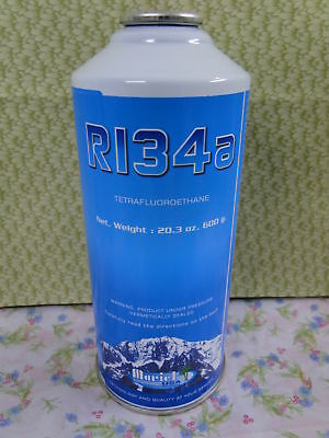 R134, R134a, Refrigerant, LARGE CAN, 20.3 oz.