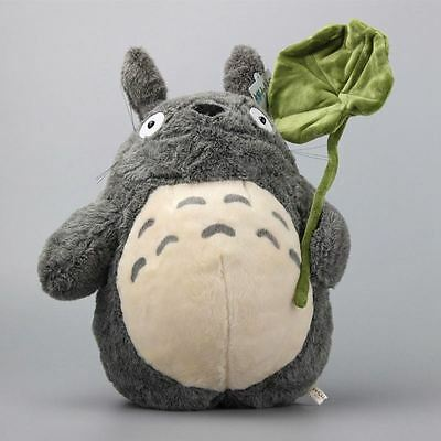 Studio Ghibi My Neighbour Totoro Cute Large Plush Toy with Leaf 38CM