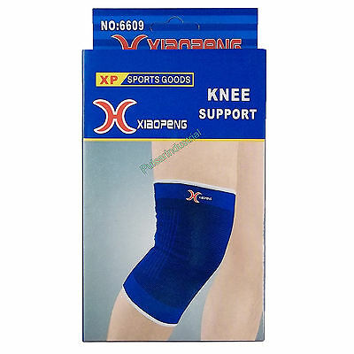 2x SPORTS KNEE SUPPORT WRAP STRAP BRACE INJURY SPRAIN PROTECTOR. 1 PAIR