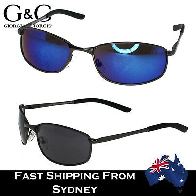G&G Men Navigator Sunglasses Revo Lens Polarized Sporty Style Free Case