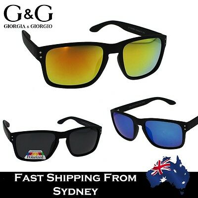 G&G Unisex Fashion Retro Sunglasses Revo Lens Polarized + Soft Pouch