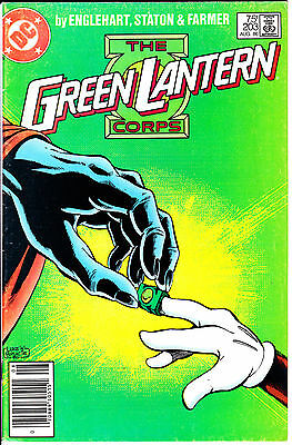 DC Comics GREEN LANTERN 1986 #203 FN 1st Series Newsstand
