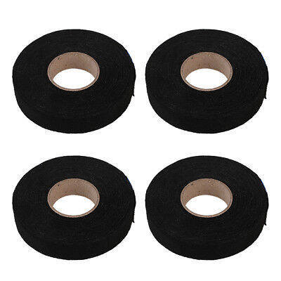 4 Rolls Adhesive Cloth Fabric Tape Cable Looms Wiring Harness USA 19mm x 25M
