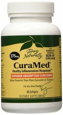 Europharma CuraMed 375 mg Softgels 60 ct Terry Naturally