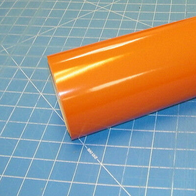 "Light Orange Oracal 651 (1) Roll 24"" X 10' Sign Cutting Vinyl"
