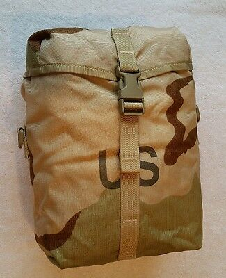 *NEW in Bag* MOLLE SUSTAINMENT POUCH, Genuine US Military Desert Camo DCU Pack