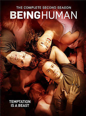 Being Human: The Complete Second Season (DVD, 2013, 4-Disc Set)