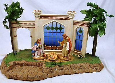 "Fontanini Millennium Edition 6 1/4"" Creche (50720) & Holy Family (71711)"