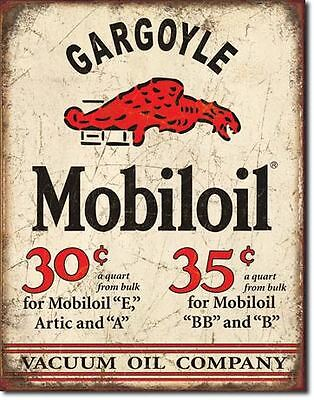 Gargoyle Mobil Oil Collectable Tin Metal Sign Combined Postage For 2+ #1897