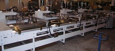 KEPES servo driven, incrementing motion conveyor Orig $108,000 new, used 18 mos.
