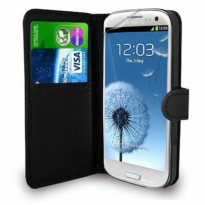 Leather Wallet Flip Case Cover for SAMSUNG GALAXY S4 I9500