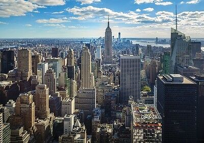 EMPIRE STATE BUILDING NEW YORK CITY Photo Wallpaper Wall Mural MANHATTAN 335x236
