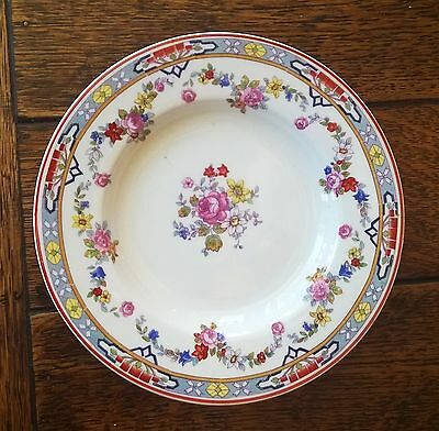 "FIVE WH Grindley England Dresden 5 1/2"" Bread Plate Small Dish"