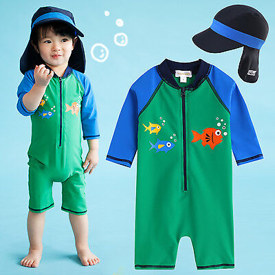 "Vaenait Baby Infant Boys Toddler Swimwear Bathing Suit ""Baby Green Tang"" 6M-24M"