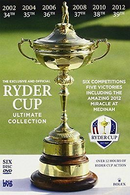 Ryder Cup Official Ultimate Collection 2010-2012 Dvd New & Factory Sealed