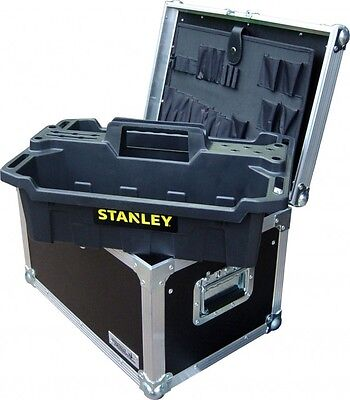Tool Box with Stanley Tote Tray and Tool Insert Swan Flight Case (Hex)