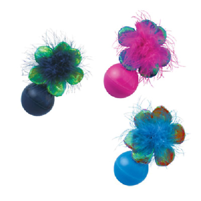 Kong Cat, Bat A Bout Flowers, Pack of 3, Premium Service, Fast Dispatch