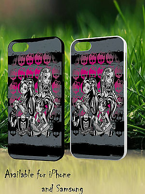Monster High Fashion Doll Ink Tattooed Cool Hard Phone Case Cover H394