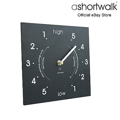 ashortwalk Eco Square Tide Clock made from recycled paper packaging