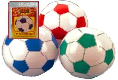 Inflatable Giant 76cm FOOTBALL Beach Ball Holiday Swimming Pool Summer Party New