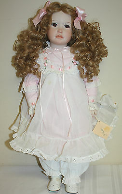 """Joilette Handcrafted Porcelain Doll by Martha Rogers 23"""""""