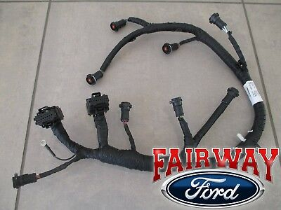 05 thru 07 Super Duty F250 F350 F450 OEM Ford Fuel Injector Wiring Harness 6.0L