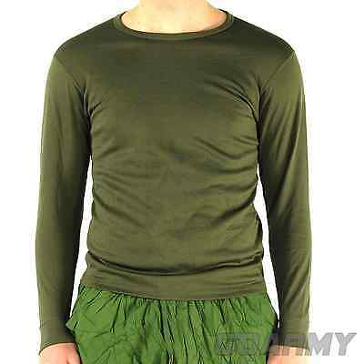 British Army MK2 Thermal Olive Fleece Wicking Top