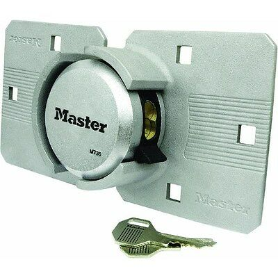 Magnum Hasp Lock,No M736XKADCCSEN,  Master Lock Co