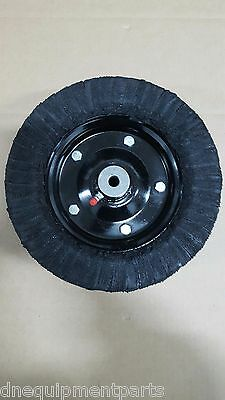 """Replacement Finish Mower Laminated Wheel 10"""" x 3.25"""" with 1/2"""" Axle Hole"""