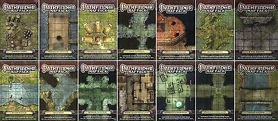 Auswahl: PATHFINDER-MAP PACK-Tiles-Terrain-Miniatures-Role Playing Game-new-rare
