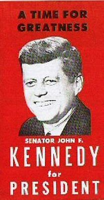 John F. Kennedy 1960 Presidential Campaign - Authentic Election Pamphlet