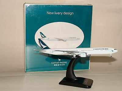 1:500 Hogan Cathay Pacific B777-300ER New Livery Design with stand freeshipping