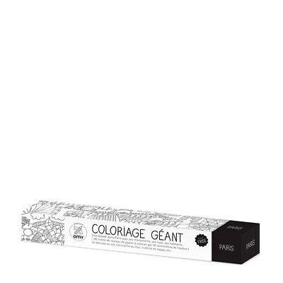 Giant Coloring Roll M Malposter Paris Omy