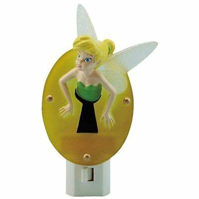 Disney Tinker Bell Stuck in Key Hole Tinkerbell Night Light  Peter Pan Fairy NIB