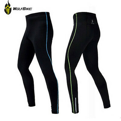 Men Autumn Bike Bicycle Cycling Waterproof Windproof Tights Pants Trousers M-2XL