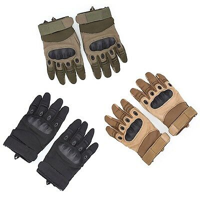Outdoor Camping Military Airsoft Hunting Cycling Tactical Gloves Full Finger