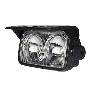 Motorcycle Dual Twin Headlight Headlamp for Trail Recreational Registration