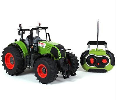 1:16 Oversized Radio Remote Control car farmer tractor Kids Toy Car Green